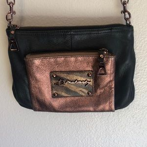 B. Makowsky small leather crossbody
